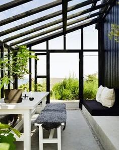 Serre aanbouw 3 danielle verhelst interieur styling breda interieuradvies - Interieur van een veranda ...