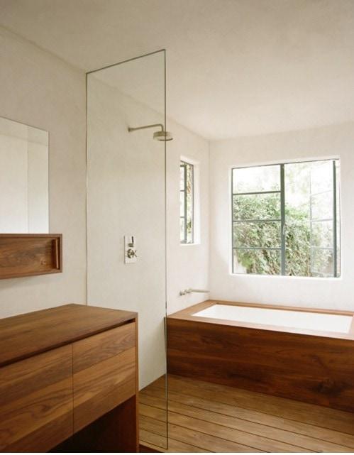 Badkamer Cabine : Hout in de badkamer ja of nee danielle verhelst ...