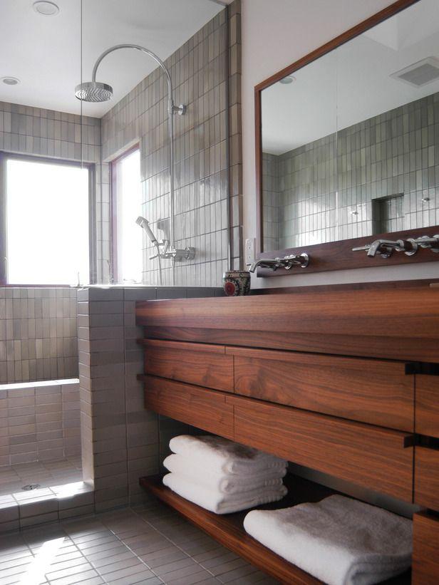 Fonkelnieuw Hout in de badkamer ja of nee? – Danielle Verhelst MS-01