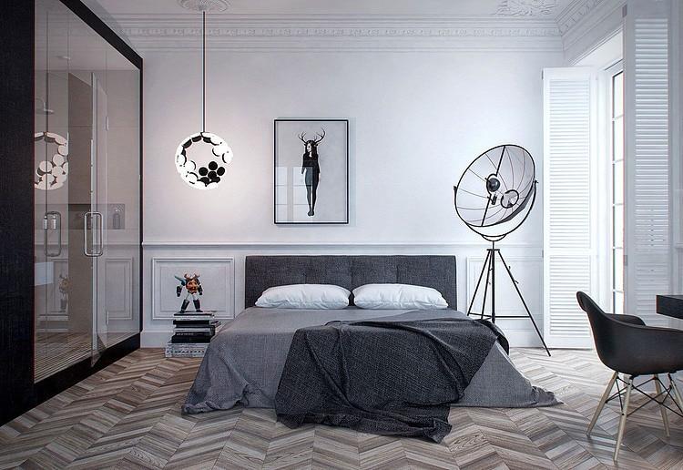 vissengraatparket slaapkamer  danielle verhelst interieur, Meubels Ideeën