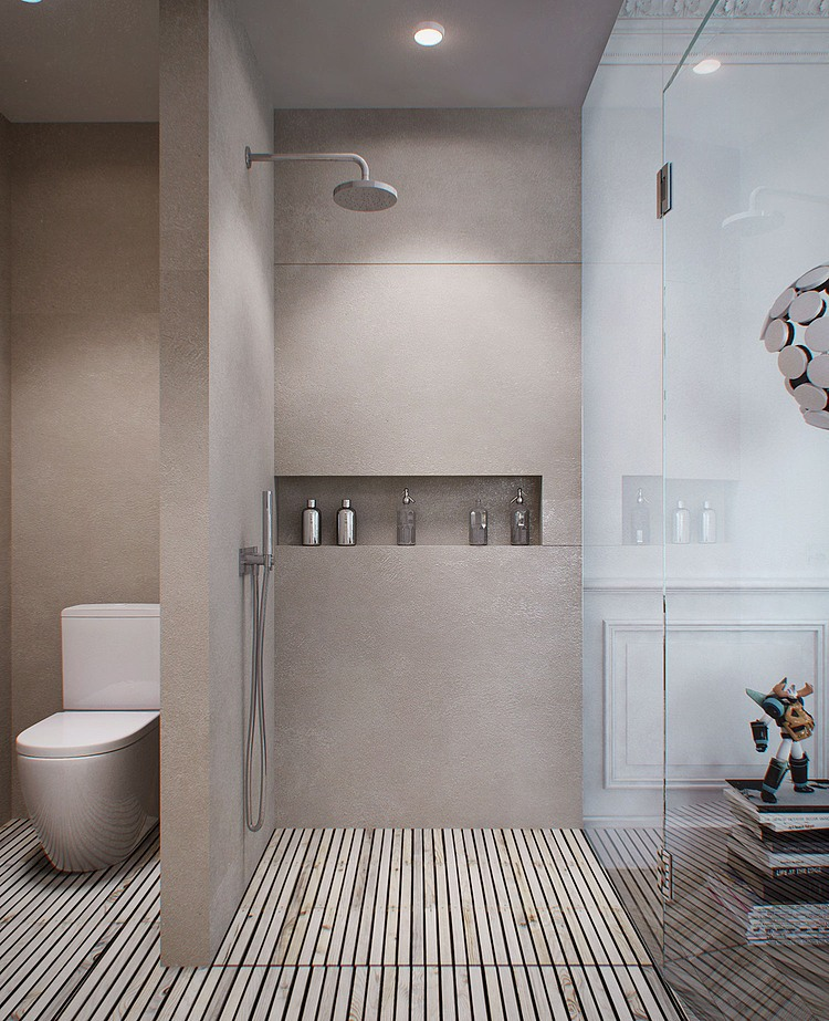 Strak interieur met warm vissengraatparket danielle for Interieur styling