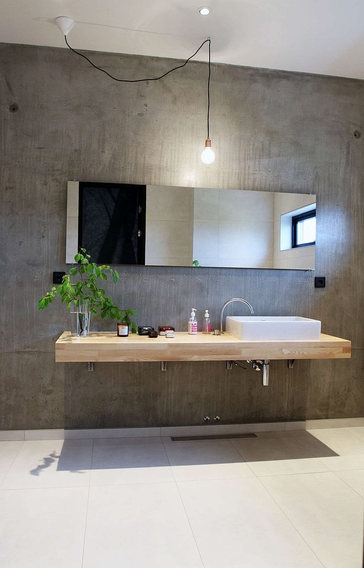 Ontwerp 10 x originele wandafwerkingen voor in de badkamer danielle verhelst interieur - Lavabos ontwerp ...
